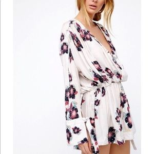 Free People Floral Tunic/Dress